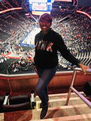 Shanell attended Washington Wizards vs. Cleveland Cavaliers - NBA on Nov 8th 2019 via VetTix