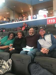 Calvin attended Washington Wizards vs. Cleveland Cavaliers - NBA on Nov 8th 2019 via VetTix