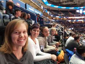 Melissa attended Washington Wizards vs. Cleveland Cavaliers - NBA on Nov 8th 2019 via VetTix