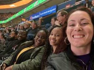 Heather attended Washington Wizards vs. Cleveland Cavaliers - NBA on Nov 8th 2019 via VetTix