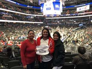 Arthur attended Washington Wizards vs. Cleveland Cavaliers - NBA on Nov 8th 2019 via VetTix