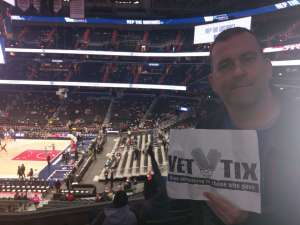 Cliff attended Washington Wizards vs. Cleveland Cavaliers - NBA on Nov 8th 2019 via VetTix