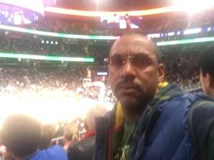Richard attended Washington Wizards vs. Cleveland Cavaliers - NBA on Nov 8th 2019 via VetTix