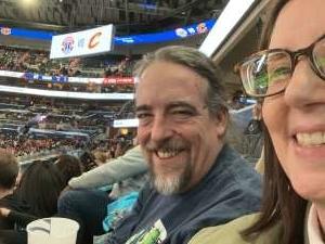 John attended Washington Wizards vs. Cleveland Cavaliers - NBA on Nov 8th 2019 via VetTix