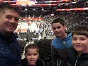 Joseph attended Washington Wizards vs. Cleveland Cavaliers - NBA on Nov 8th 2019 via VetTix