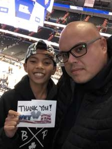 Nicholas attended Washington Wizards vs. Cleveland Cavaliers - NBA on Nov 8th 2019 via VetTix