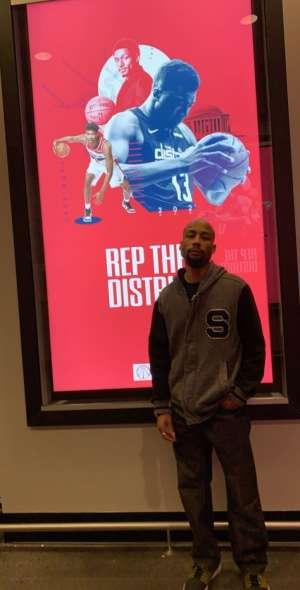 Juwan attended Washington Wizards vs. Cleveland Cavaliers - NBA on Nov 8th 2019 via VetTix