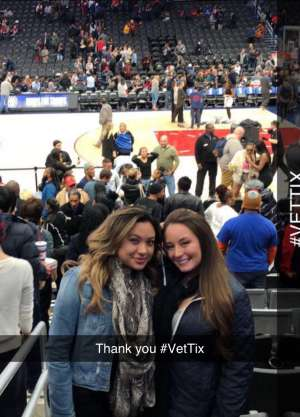 TRACY attended Washington Wizards vs. Cleveland Cavaliers - NBA on Nov 8th 2019 via VetTix