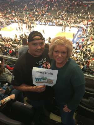 Jose attended Washington Wizards vs. Cleveland Cavaliers - NBA on Nov 8th 2019 via VetTix