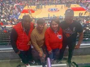 Beatrice attended Washington Wizards vs. Cleveland Cavaliers - NBA on Nov 8th 2019 via VetTix