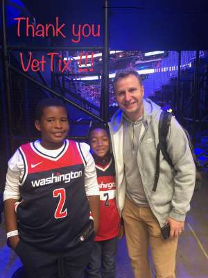 Rodney attended Washington Wizards vs. Cleveland Cavaliers - NBA on Nov 8th 2019 via VetTix