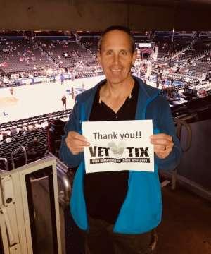 Steve attended Washington Wizards vs. Cleveland Cavaliers - NBA on Nov 8th 2019 via VetTix