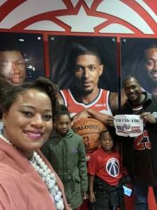 Cashenna attended Washington Wizards vs. Cleveland Cavaliers - NBA on Nov 8th 2019 via VetTix