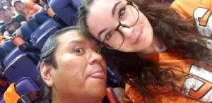 Patricia attended Phoenix Suns vs. Miami Heat - NBA on Nov 7th 2019 via VetTix