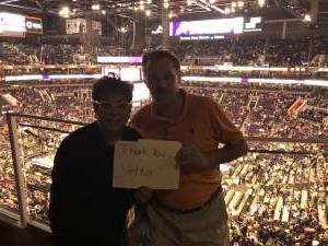 Charles attended Phoenix Suns vs. Miami Heat - NBA on Nov 7th 2019 via VetTix