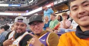 Samuel attended Phoenix Suns vs. Miami Heat - NBA on Nov 7th 2019 via VetTix