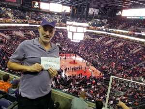 Darius attended Phoenix Suns vs. Miami Heat - NBA on Nov 7th 2019 via VetTix