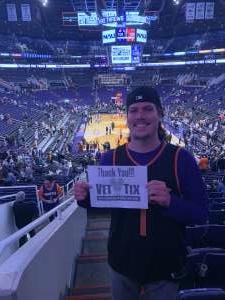 Keith attended Phoenix Suns vs. Miami Heat - NBA on Nov 7th 2019 via VetTix