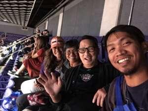 Abilene attended Phoenix Suns vs. Miami Heat - NBA on Nov 7th 2019 via VetTix