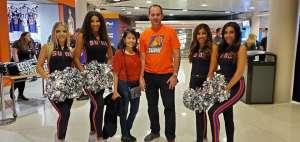 William and Jane Eastwood attended Phoenix Suns vs. Miami Heat - NBA on Nov 7th 2019 via VetTix