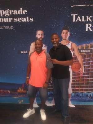 Gregory attended Phoenix Suns vs. Miami Heat - NBA on Nov 7th 2019 via VetTix