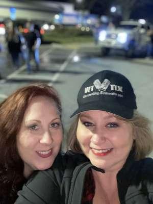 janette attended Brantley Gilbert - Fire't Up 2020 Tour on Feb 13th 2020 via VetTix