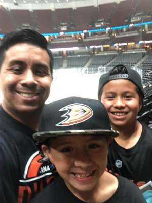 Rick attended Anaheim Ducks vs. Edmonton Oilers - NHL on Nov 10th 2019 via VetTix