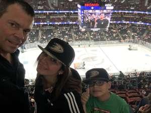 John S. attended Anaheim Ducks vs. Edmonton Oilers - NHL on Nov 10th 2019 via VetTix