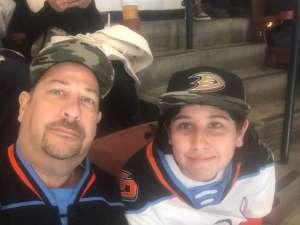 EDWIN attended Anaheim Ducks vs. Edmonton Oilers - NHL on Nov 10th 2019 via VetTix