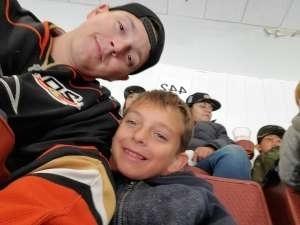 Robert attended Anaheim Ducks vs. Edmonton Oilers - NHL on Nov 10th 2019 via VetTix