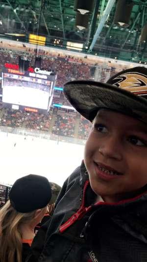 Trina attended Anaheim Ducks vs. Edmonton Oilers - NHL on Nov 10th 2019 via VetTix