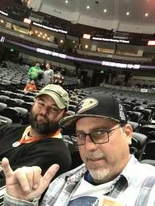 Justin attended Anaheim Ducks vs. Edmonton Oilers - NHL on Nov 10th 2019 via VetTix