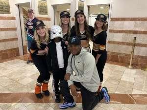 Rodriqus attended Anaheim Ducks vs. Edmonton Oilers - NHL on Nov 10th 2019 via VetTix