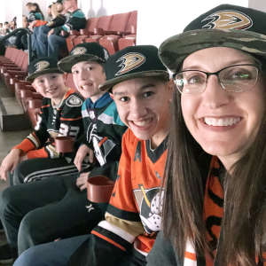 David attended Anaheim Ducks vs. Edmonton Oilers - NHL on Nov 10th 2019 via VetTix