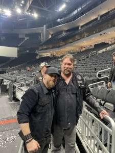 Cliff attended Brantley Gilbert - Fire't Up 2020 Tour on Feb 8th 2020 via VetTix