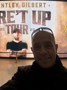 Collin attended Brantley Gilbert - Fire't Up 2020 Tour on Feb 8th 2020 via VetTix