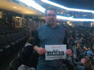 Ron attended Brantley Gilbert - Fire't Up 2020 Tour on Feb 8th 2020 via VetTix