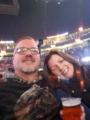 Curtis attended Brantley Gilbert - Fire't Up 2020 Tour on Feb 8th 2020 via VetTix