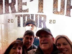 Gary Seibak attended Brantley Gilbert - Fire't Up 2020 Tour on Feb 8th 2020 via VetTix
