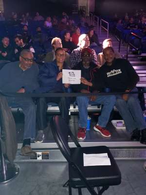 Frederick attended Glory 72 - Chicago - Kickboxing - Presented by Glory Kickboxing on Nov 23rd 2019 via VetTix