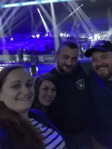 Ashlee attended Glory 72 - Chicago - Kickboxing - Presented by Glory Kickboxing on Nov 23rd 2019 via VetTix