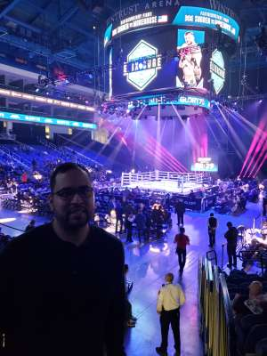 George attended Glory 72 - Chicago - Kickboxing - Presented by Glory Kickboxing on Nov 23rd 2019 via VetTix