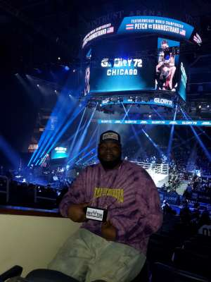 renness attended Glory 72 - Chicago - Kickboxing - Presented by Glory Kickboxing on Nov 23rd 2019 via VetTix