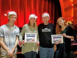 David attended Christmas Spectacular Starring the Radio City Rockettes on Nov 11th 2019 via VetTix