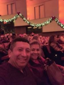 Alex attended Christmas Spectacular Starring the Radio City Rockettes on Nov 11th 2019 via VetTix