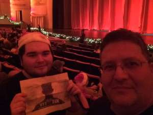 Peter attended Christmas Spectacular Starring the Radio City Rockettes on Nov 11th 2019 via VetTix