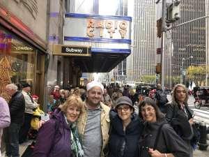 Jacob attended Christmas Spectacular Starring the Radio City Rockettes on Nov 11th 2019 via VetTix