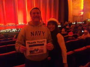 Gary attended Christmas Spectacular Starring the Radio City Rockettes on Nov 11th 2019 via VetTix