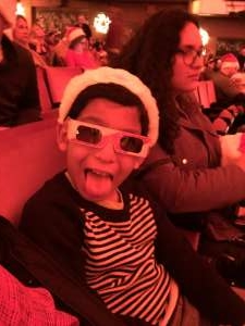 Victor attended Christmas Spectacular Starring the Radio City Rockettes on Nov 11th 2019 via VetTix