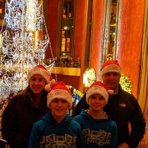 Brandon  attended Christmas Spectacular Starring the Radio City Rockettes on Nov 11th 2019 via VetTix